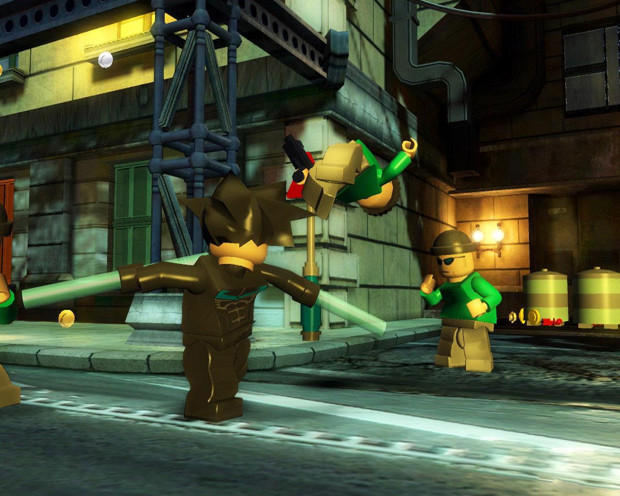 九月份上市游戏 乐高蝙蝠侠 新画面
