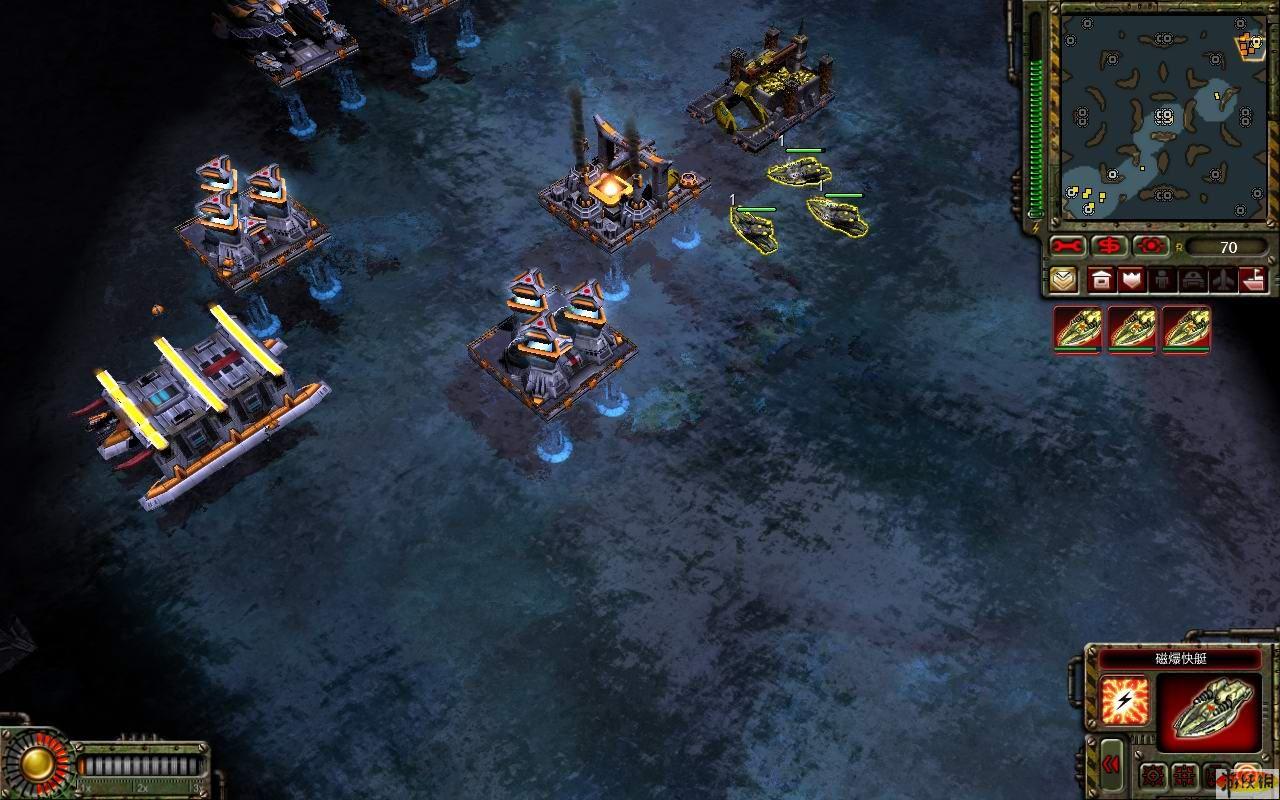 命令与征服之红色警戒3起义挑战模式急速攻略 命令与征服...