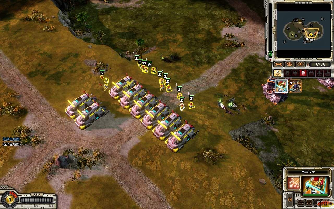 ...坦克杀手1兵营出5弓箭少女后出帝国武士   被摧残了10次最...