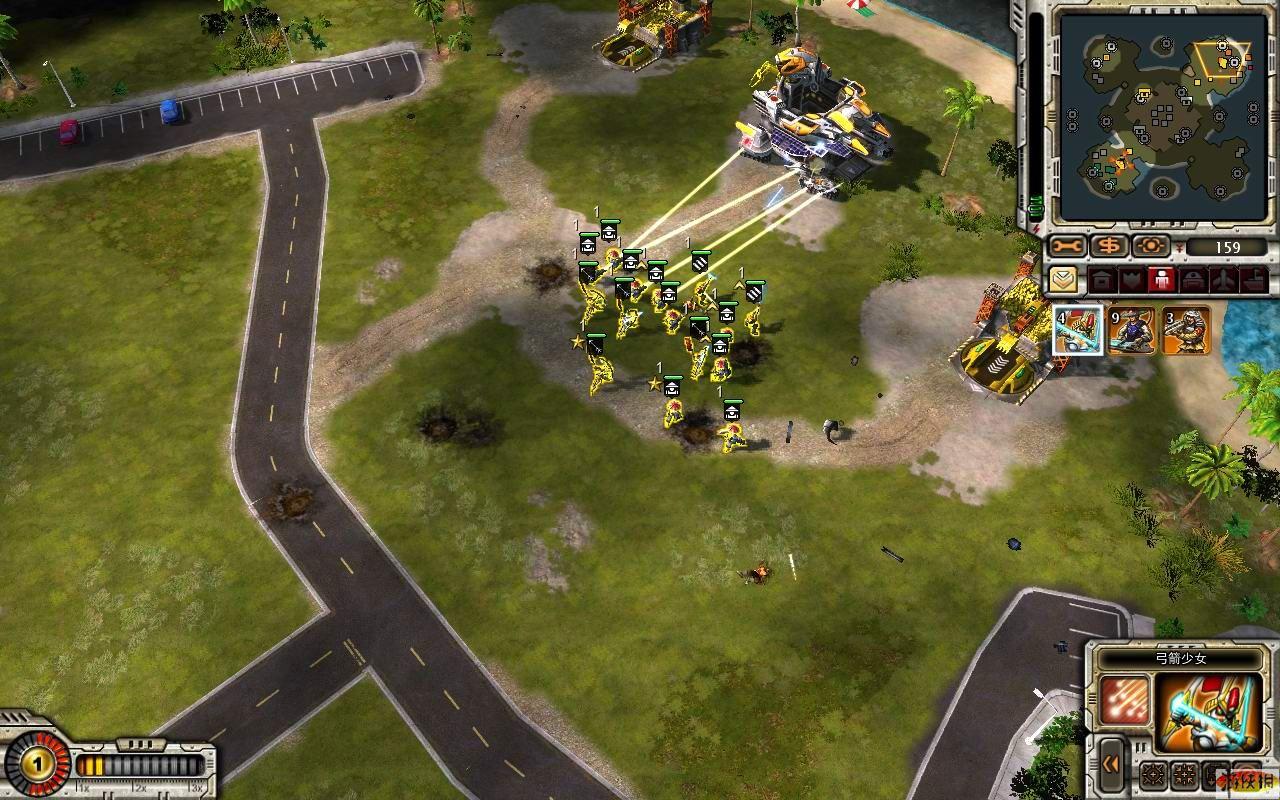 《命令与征服之红色警戒3起义》挑战模式急速攻略