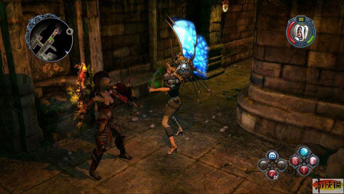 Теперь ее преемница Sacred 2 пришла на Playstation 3! . Действие игры прои