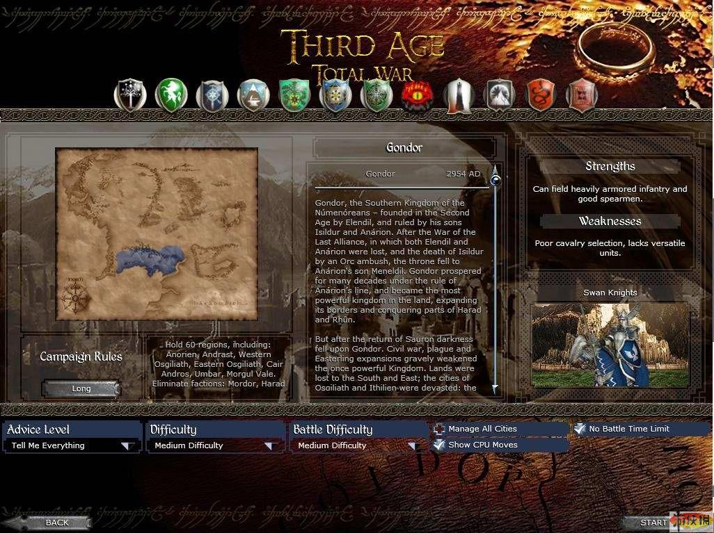 中世纪2魔戒mod_《帝国全面战争》中世纪2魔戒mod的一些问题回答-游侠网