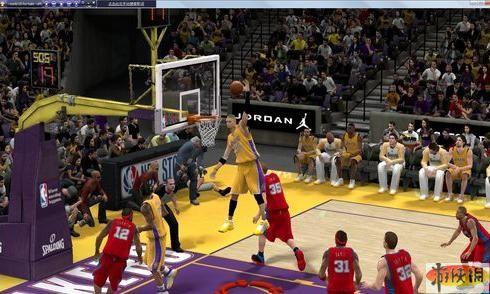 《NBA 2K10》各个位置心得
