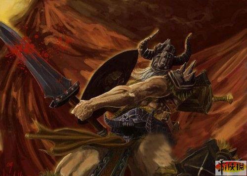 暴雪作品展 暗黑破坏神3 恶魔和野蛮人亮相