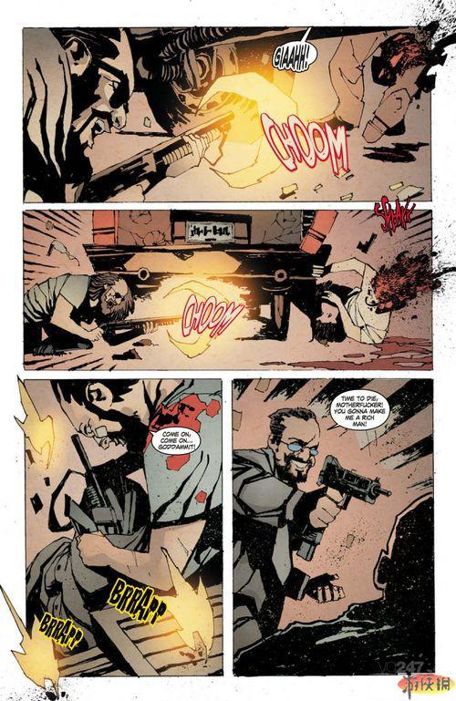 《凯恩与林奇2伏天》漫画封面及截图图片