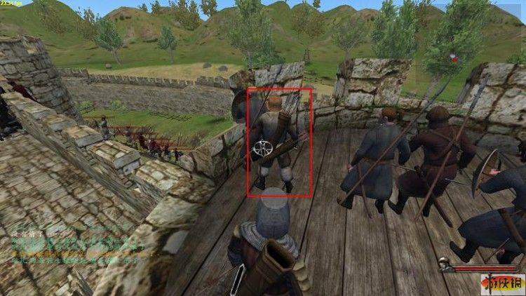 骑马与砍杀战团背 2 袋箭的士兵