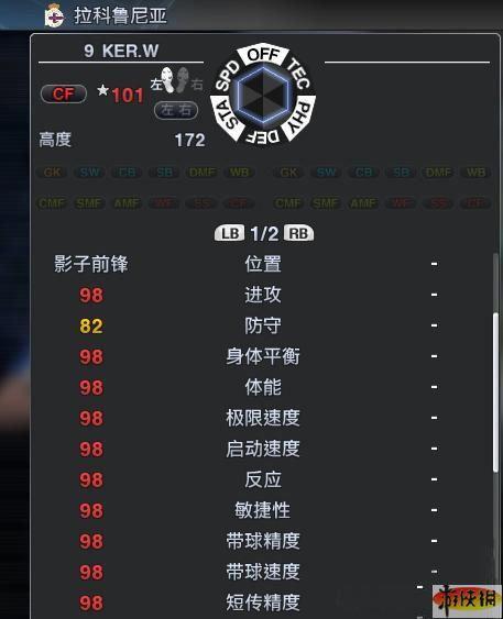 实况足球能力值_《实况足球2011》利用game master修改工具修改一球