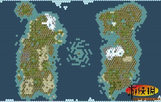 《文明5》玩家自制魔兽世界旧艾泽拉斯地图包