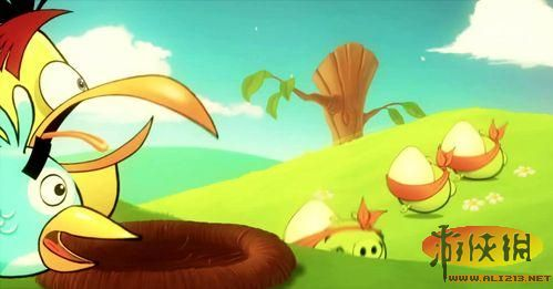 谁偷了你的鸟蛋 愤怒的小鸟 美术视频欣赏