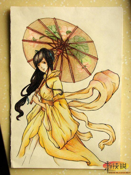 《仙剑奇侠传5》女主角各种手绘同人图